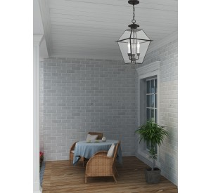 Western Indoor/Outdoor Pendant Lantern