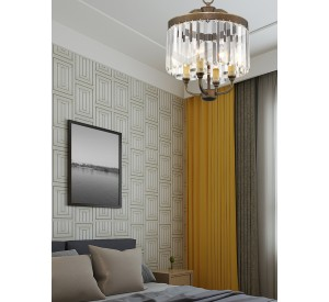 Ashton Mini Chandelier/Ceiling Mount